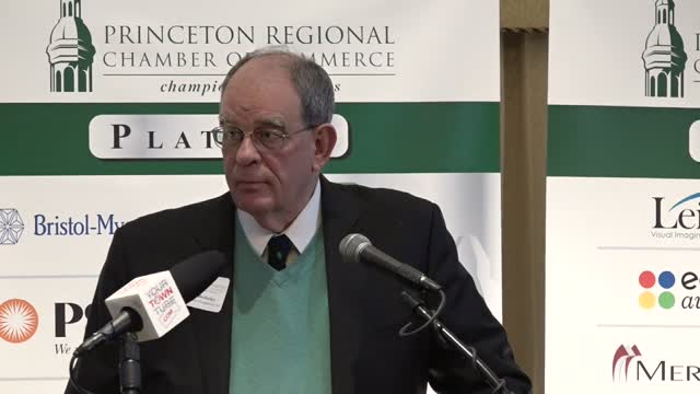 Q&A Princeton Chamber February Speaker Alfred Berkeley Past President, NASDAQ Stock Market
