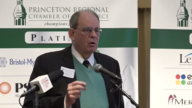 Princeton Chamber Speaker Alfred Berkeley NASDAQ