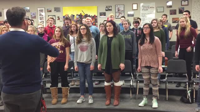 Princeton Highschool Choir Program