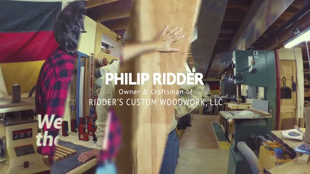 Philip Ridder of Ridder's Custom Woodwork video2
