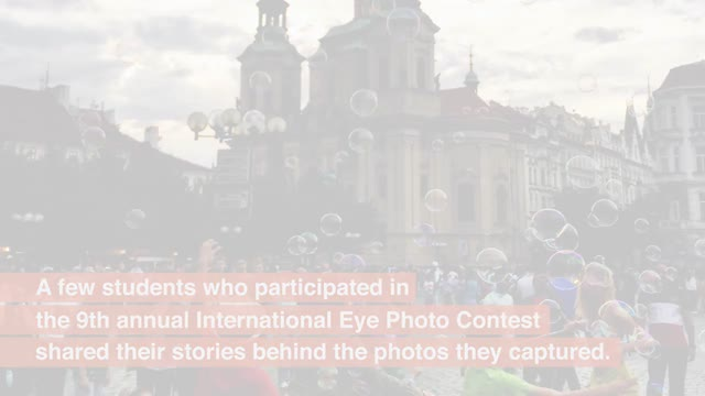 Learning through the camera lens: International Eye photo contest