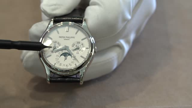 'Hamilton Watch Scene' No.2: Patek Philippe Chronograph