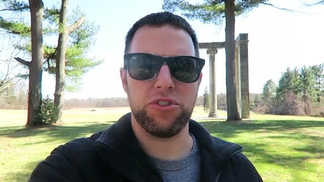 Princeton Battlefield Park DRONE & VLOG tour
