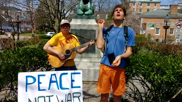 Peace Not War with Fred and Will (Princeton NJ)