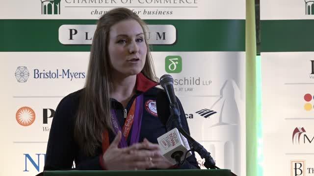 Gold Medal Winner Caroline Lind Pt.1- Princeton Chamber