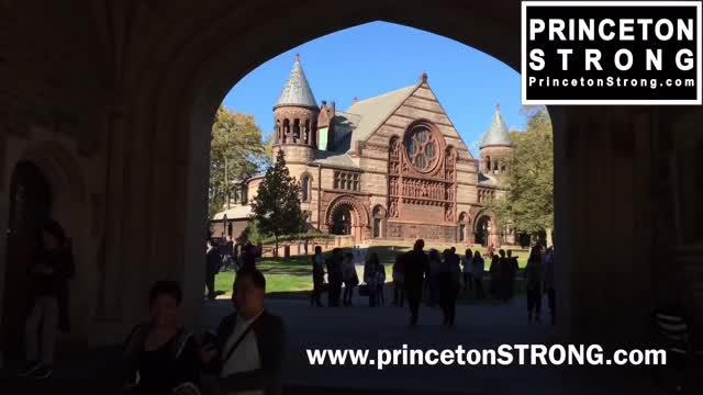 Princeton Strong - Flag Day flag burning 1/2