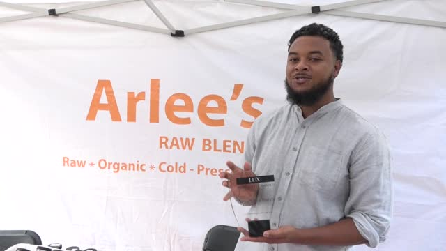 Arlees Raw Blends Princeton Chamber Block Party Sponsor