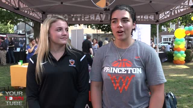 Princeton University Athletics @ Princeton Chamber Block Party