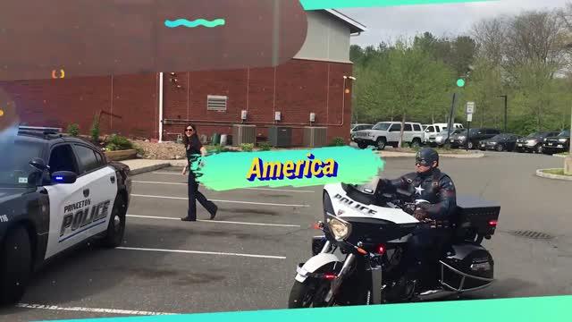 Princeton Police 2017 'Take your Kids to Work Day'