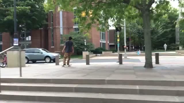 Tom Asta Professional skateboarder Princeton Fountain