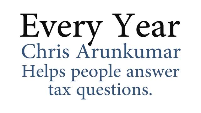 Chris Arunkumar World Class Accountant