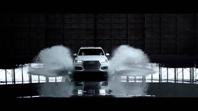 quattro all-wheel drive  'Raindrops'