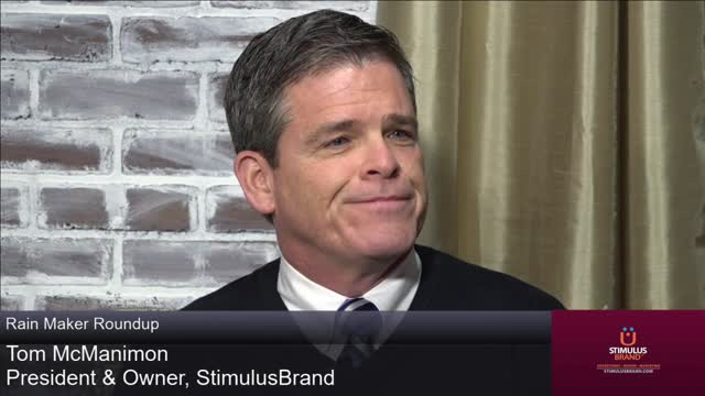Interview with Tom McManimon, principal of StimulusBrand Communications