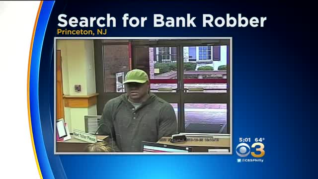 Bank Robbery Suspect Sought In Princeton