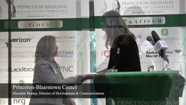 Non Profit Grant Awards 2017 Princeton Chamber
