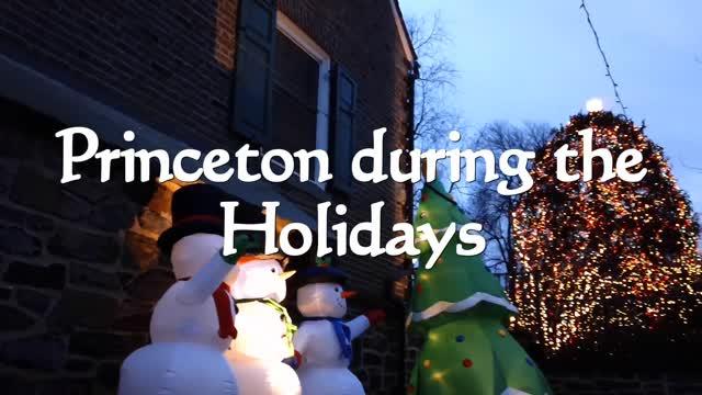 Holiday Jam around the Christmas Tree in Princeton