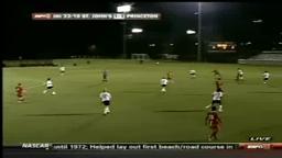 Josh Walburn Princeton Soccer.
