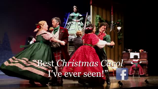 A Christmas Carol 'Community Spirit Steals the Show' McCarter