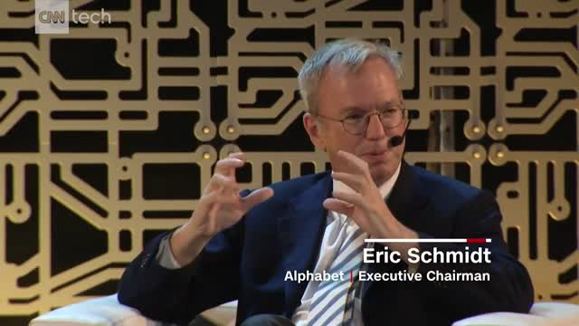 Google's Eric Schmidt (Princeton): Trump's policies
