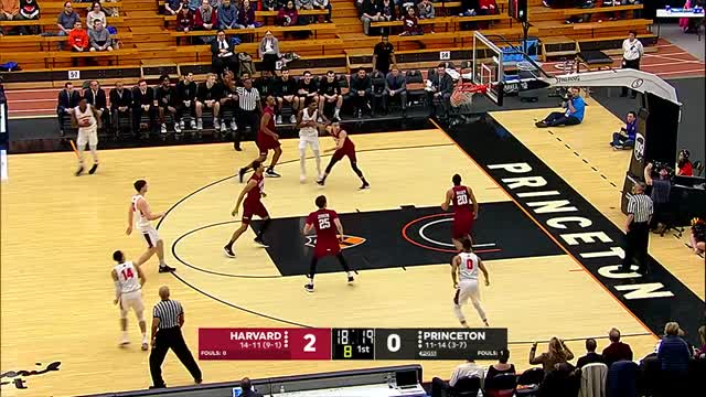 Highlights: Men's Basketball vs. Harvard - 2/23/18