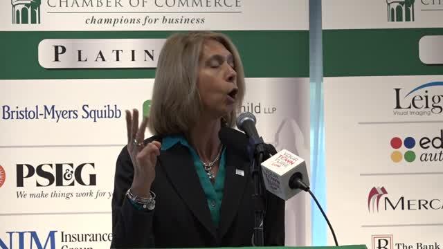Princeton Chamber Feb'18 Speaker Michele Siekerka pt2