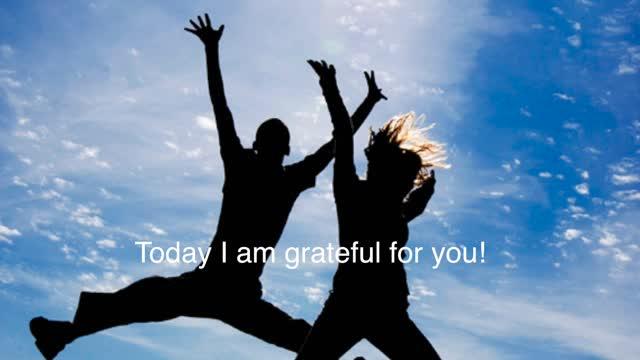 I am Grateful...Open Mind.