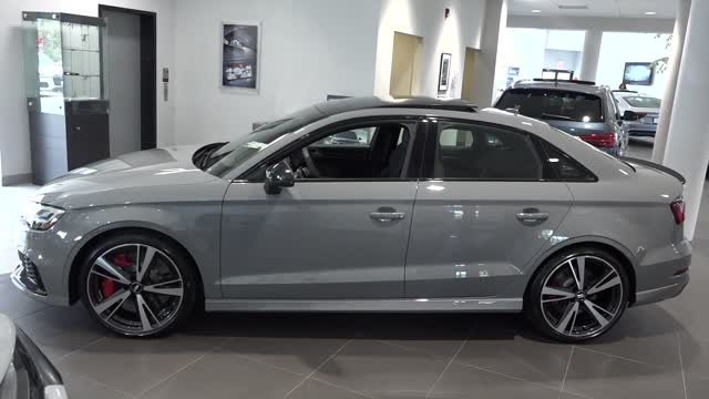 Awesome 2018 Audi RS 3 2.5T Sedan @ Audi Princeton
