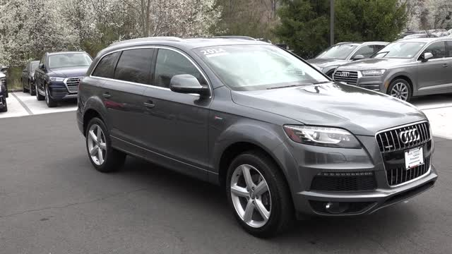 Loaded Q7 2014 incredible deal, low mileage, under warranty