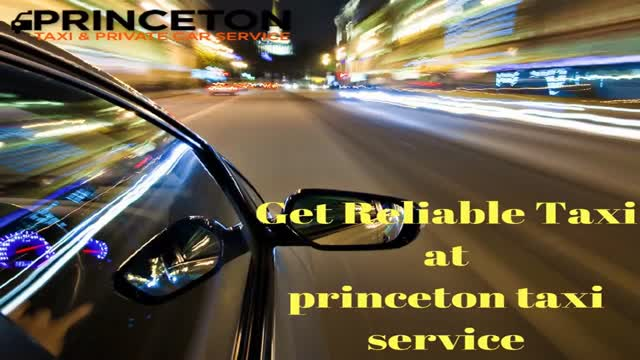 Princeton Private Taxi Service: Ride On Demand
