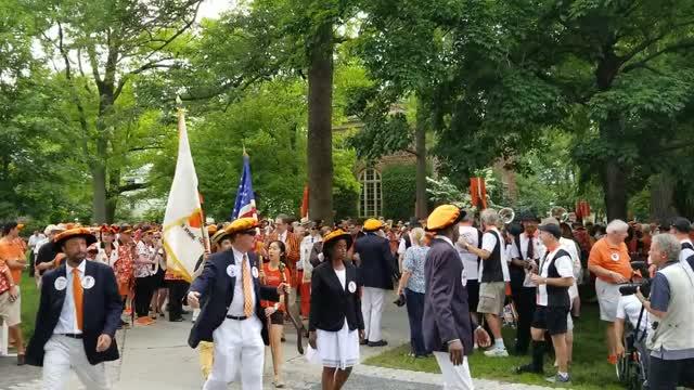 Start of Princeton P-rade 2018