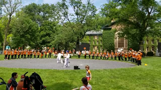 Princeton Band at Reunions 2018 Children of Sanchez