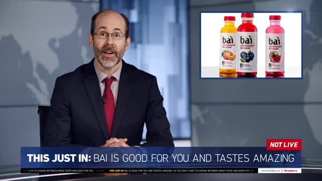This Just In: Timberlake's New Commercial For Bai (Princeton)
