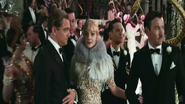GREAT GATSBY Trailer F. Scott Fitzgerald Princeton student & resident early1900's