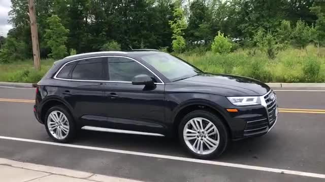 2018 Audi Q5 Moonlight Blue Metallic
