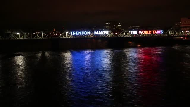 'Trenton Makes' bridge shines like never before