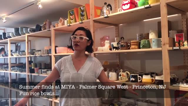 Alyssa visits Miya Princeton Palmer Square