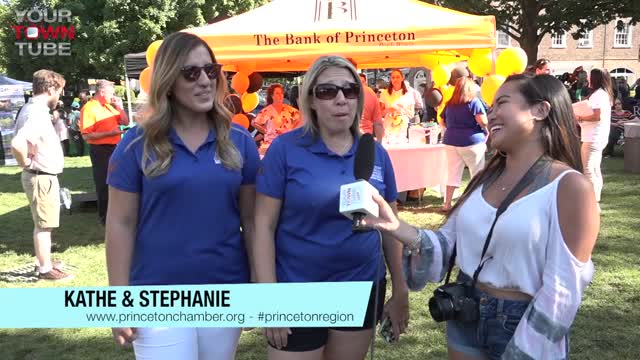 Kate & Stephanie Princeton Chamber Block Party