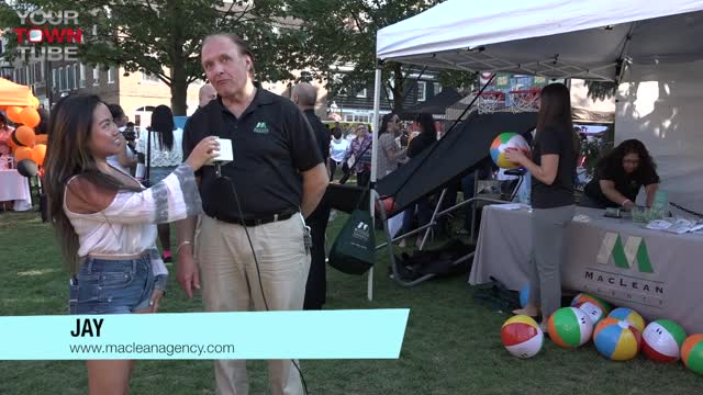MaClean Agency Princeton Chamber Block Party
