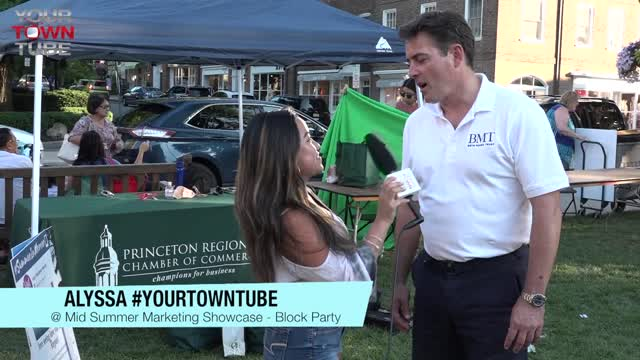John Goedecke Chamber Msg. Summer Block Party
