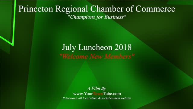 Princeton Chamber New Members July