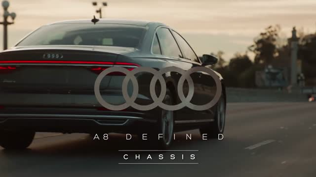 Audi 2019 A8 Defined: Chassis