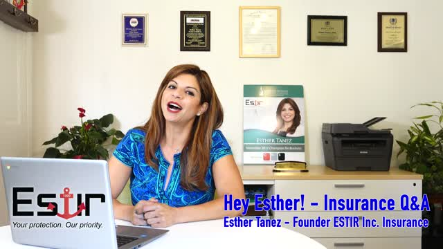 Hey Esther: Insurance Q & A show (Episode 1)