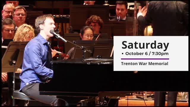The Music of Elton John Philly Pops @ Trenton War Memorial Oct. 6 2018 Benefit Concert!