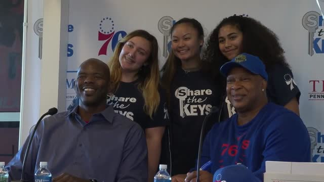 NJM Insurance/Sixers Share the Keys