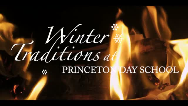 Happy Holidays from Princeton Day School