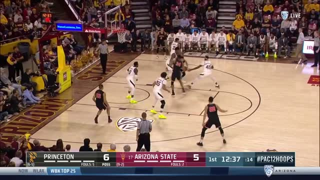 Men's Basketball WIN @ #17 Arizona State - 12/29/18