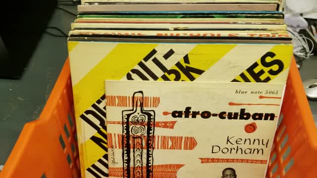Rare Jazz Records @ Princeton Record Exchange, Feb. 2019