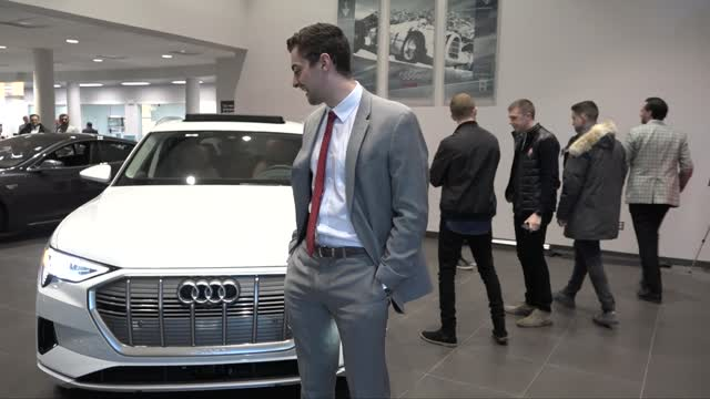See the Amazing e-tron @Audi Princeton - Electric Goes Audi!