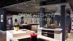 The stunning Sub Zero Wolf Cove Living Kitchen at Mrs. Gs