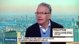 Princeton's O'Toole: Brexit Stalemate CausedEnormous Damage to U.K.